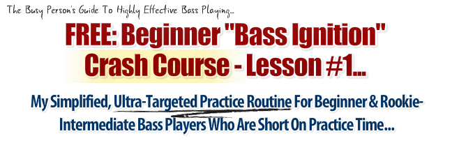 "FREE PRESENTATION: ""The Busy Person's Guide to Highly Effective Bass Playing…"""